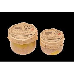 Rillettes au foie gras 20%