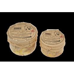 Terrine de foie gras au Pineau
